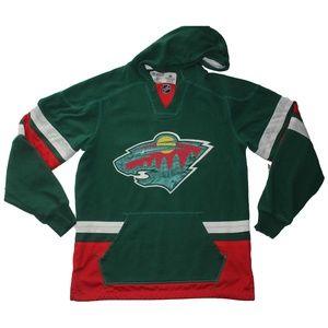 CCM NHL Hockey Minnesota Wild Jersey Hoodie